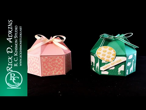 Hexagon Carton Box Video Tutorial featuring Party Animal DSP