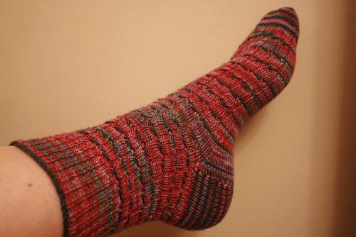 Ann Weaver Test Sock