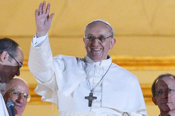 The new man: Cardinal Bergoglio will become Pope Francis I