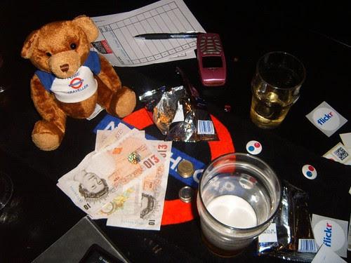 Pub Quiz Table