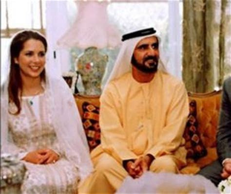 Princess Haya and Sheikh Mohammed Wedding Pictures