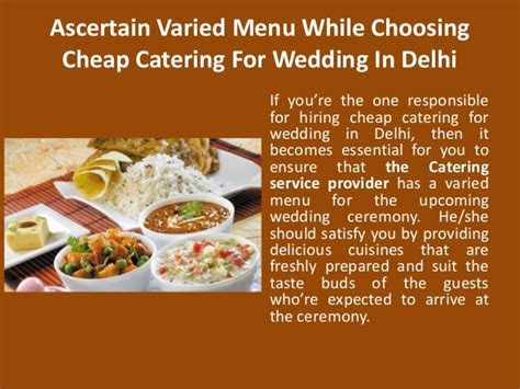 Cheap catering for wedding in delhi