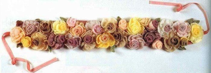 Crochet, a master class, flowers,