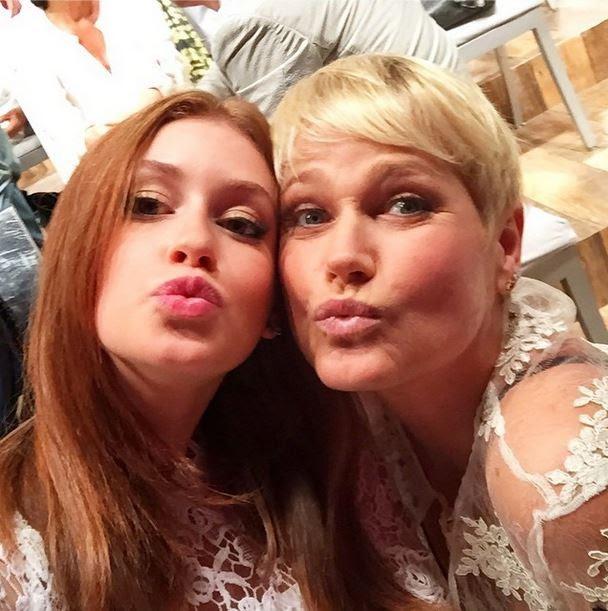 Marina Ruy Barbosa e Xuxa (Foto: Instagram)