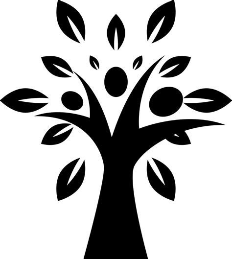 Tree Shape With Leaves Svg Png Icon Free Download (#35484
