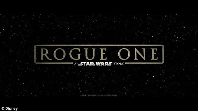 Altamente antecipado: Rogue One: A Star Wars história explosões nos cinemas em 16 de Dezembro