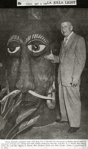 Jimmy Durante & Mr.Bali Hai Compare Noses, 1955