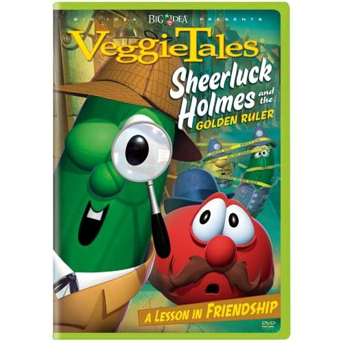 Veggie Tales DVD cover art