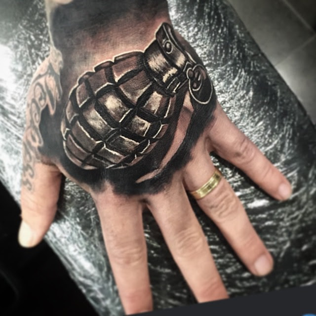 Black And Grey Hand Tattoo Best Tattoo Ideas Gallery