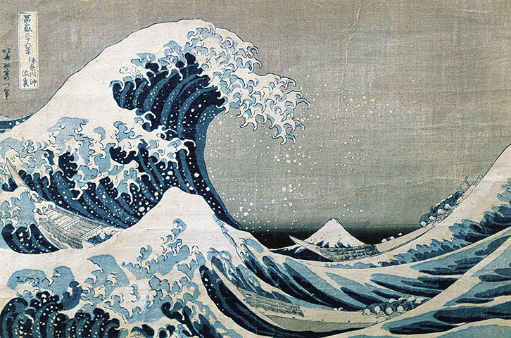 Sea picture: The Great Wave