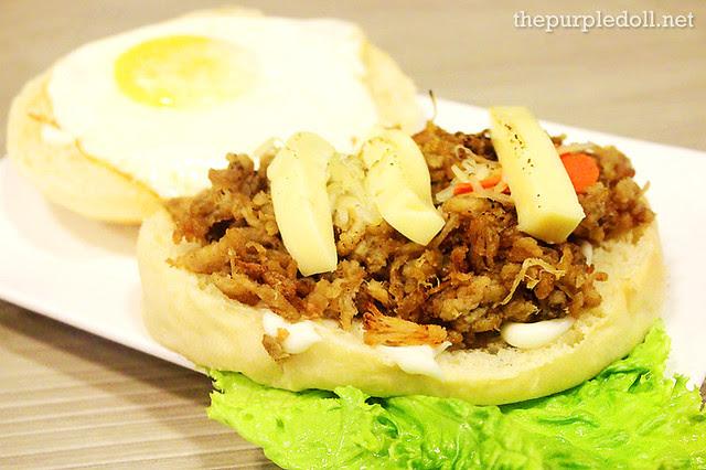 Pulled Pork Adobo Sandwich (P160)