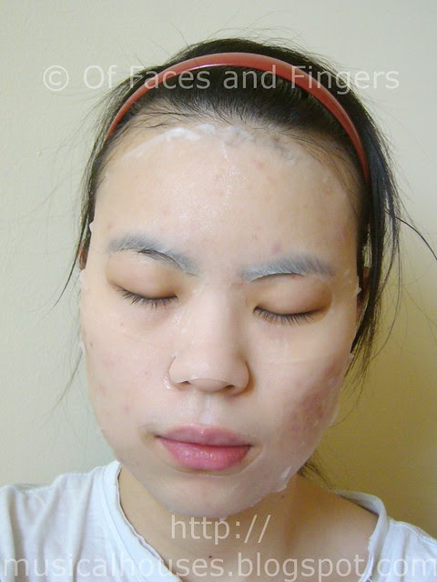 leaders clinic collagen infusion mask demo