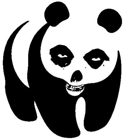 Misfits Panda (Glenn Pandzig!) for Erika. Happy birthday Erika!