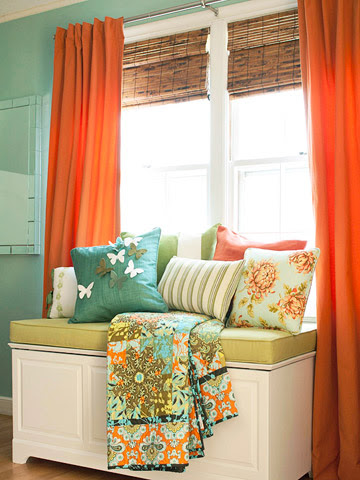 Feeling inspired by turquoise and orange. | Delectable Cache Quest