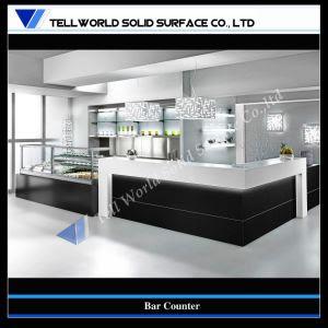 Customized Artificial Stone Modern Home Bar Design (TW-071 ...