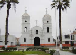 iglesia  catolica de chincha