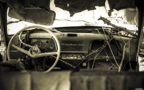rusty car wallpaper wide iphone  car rusty muscle