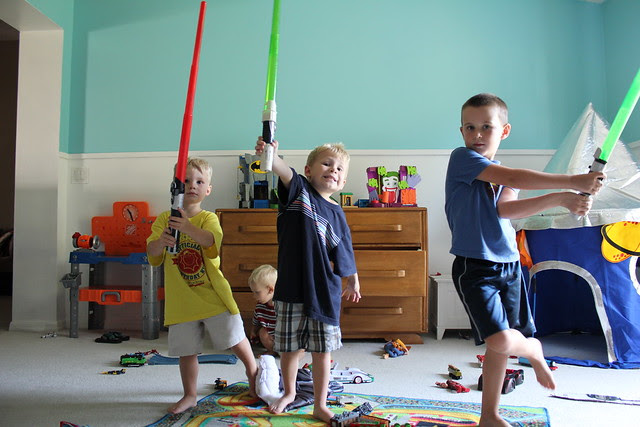 jedi knights in training