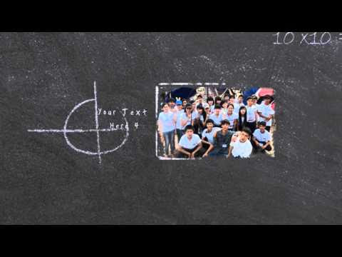 [Free Intro Proshow ] Giới thiệu lớp - Style Proshow Back to school