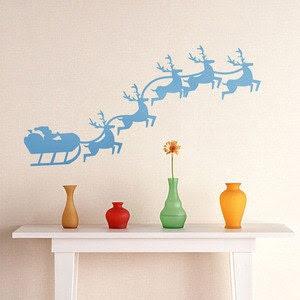 Removable Amon Home Wall Stickers --Christmas deer