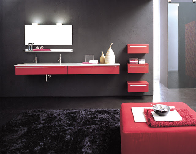LOFT Serie AB 400 - modern - bathroom vanities and sink consoles ...