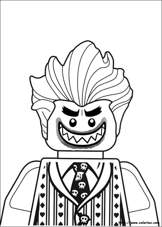 De Coloriages Coloriage De Lego Batman