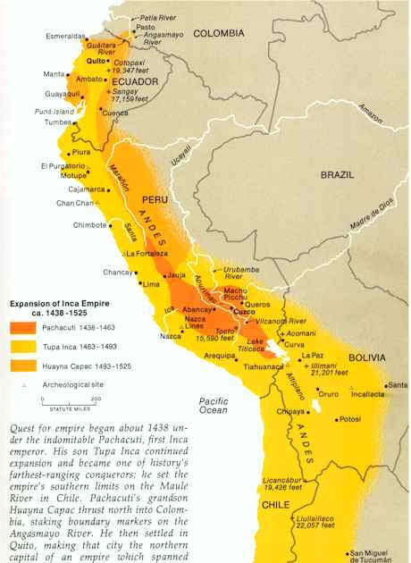 the inca the most important civilization in the new world