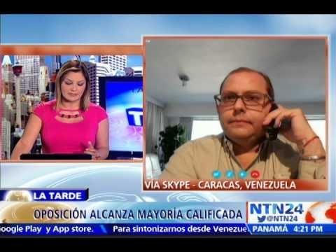 """DANIEL VARNAGY: """"TRIUNFO DE LA OPOSICIÓN ES UN VOTO CASTIGO A LA MALA GESTIÓN ECONÓMICA DE MADURO"""""""