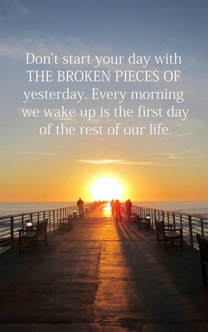 Enjoyable Morning Quotes