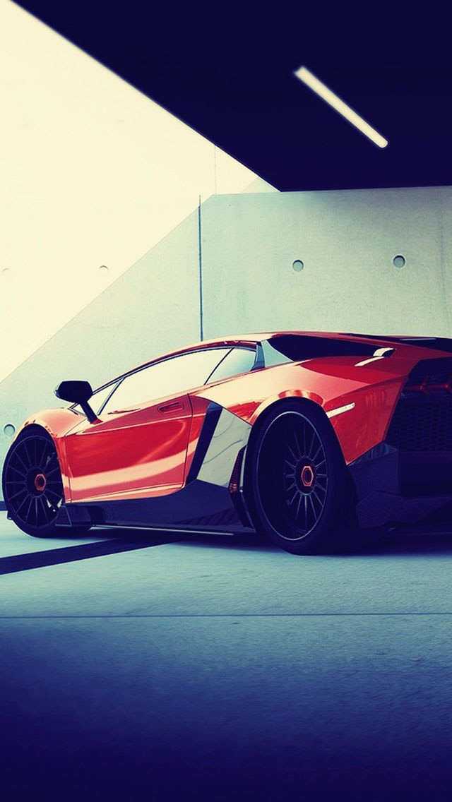 Vehicles Lamborghini Aventador  The iPhone Wallpapers