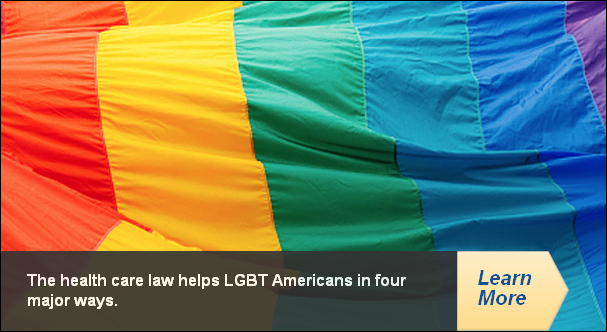The health care law helps LGBT Americans in four major ways.