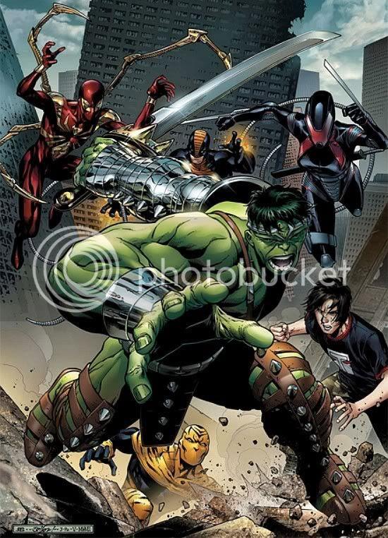 Avengers: The Initiative #5