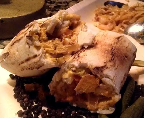 Chicken Musakhan Wrap