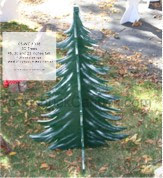 3D Trees Yard Art Woodworking Patterns - 48, 30 and 23 inches tall - fee plans from WoodworkersWorkshop® Online Store - 3D trees,plywood,flat pack,yard art,painting wood crafts,scrollsawing patterns,drawings,plywood,plywoodworking plans,woodworkers projects,workshop blueprints