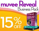 15% off muvee Reveal Business Pack