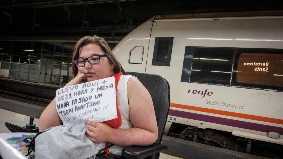 El 52% de los trenes de Renfe son inaccesibles para discapacitados en Catalunya