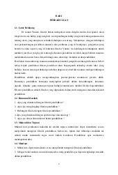 Filsafat Pendidikan - hakikat dan tujuan pendidikan islam