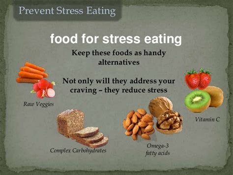 prevent stress eating food