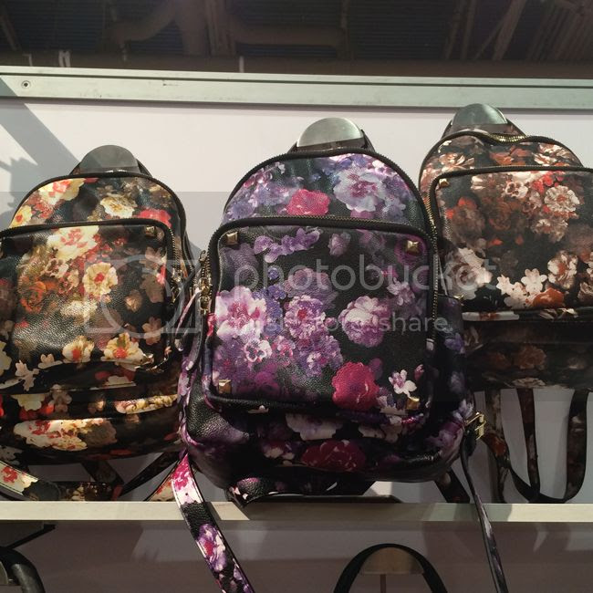 Moda Luxe Floral Print Backpacks