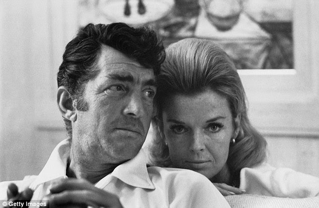 RIP: Jeanne Martin, the second wife of legendary entertainer Dean Martin, has died from cancer in Beverly Hills at age 89. She's pictured with her husband in 1966
