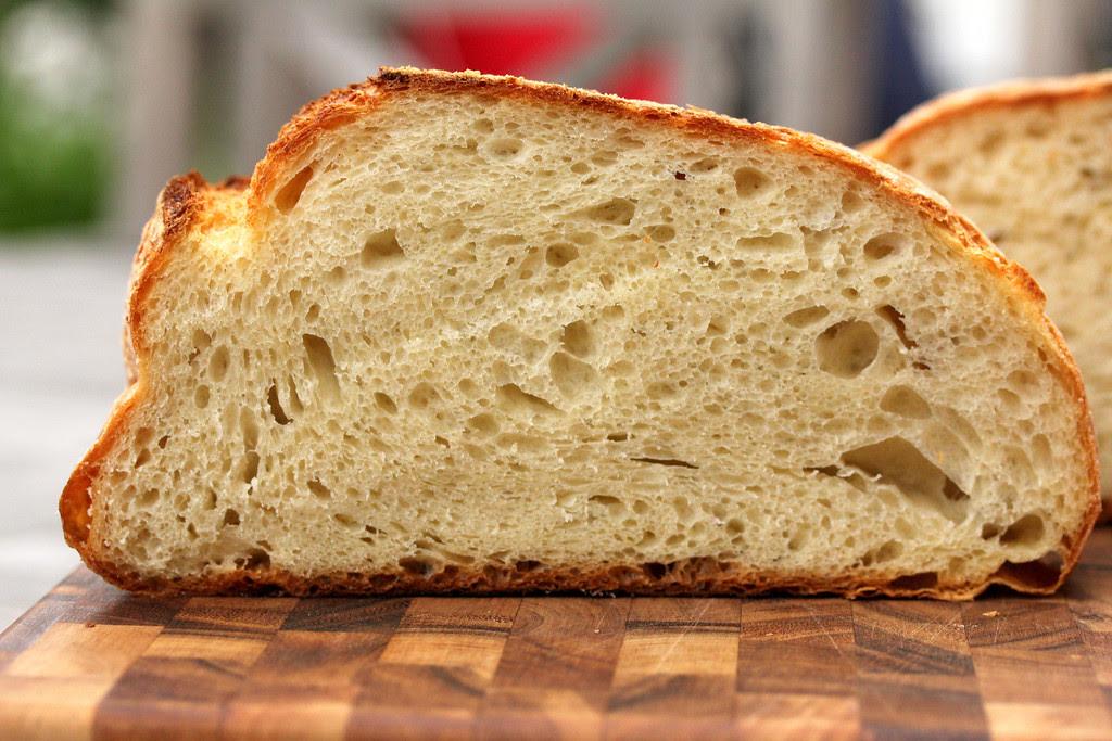 Nine Hour Crusty White Bread | The Saturday White Bread