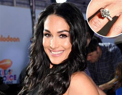 Nikki Bella's 5 Carat Engagement Ring: All the Details   E