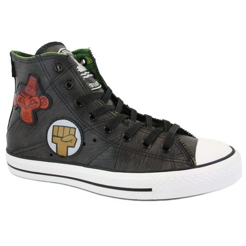 f0c72bc847d Shoes   Accessories  Converse Chuck Taylor Gorillaz Motorcycle Hi 132195C  Unisex Limited Edition Laced Leather Trainers Black - 9