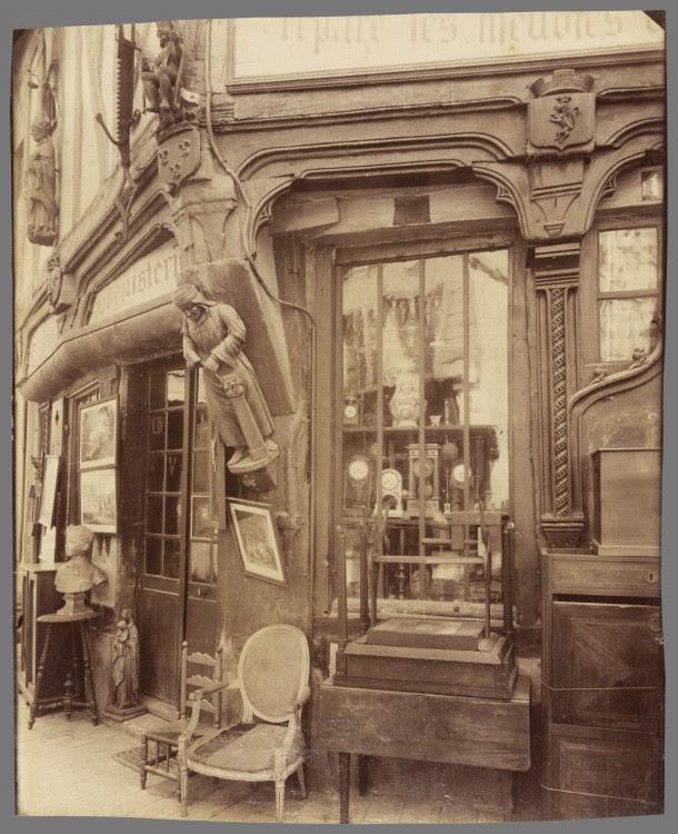 Atget Paris Compigne Vielle Maison rue des Lombards 610x750 Le Paris de 1900 par Atget  photographie histoire art