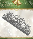 PM10068 Snijmal Snowflake Border Spirit of Christmas Precious Marieke