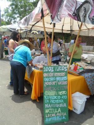 La Feria Verde se celebra todos los sábados.