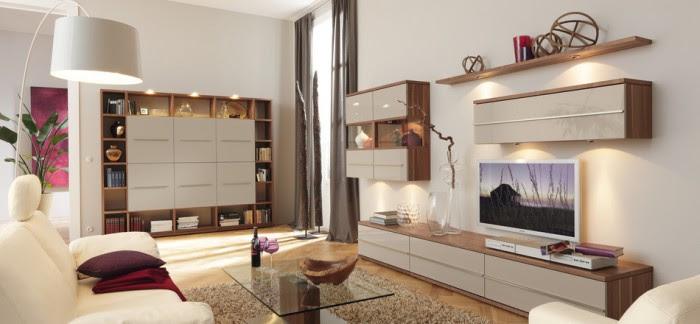 feminine modern living room