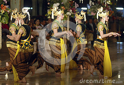 INDONESIAN TRADITIONAL WEDDING RITUALS Editorial Photography  Image: 42811902