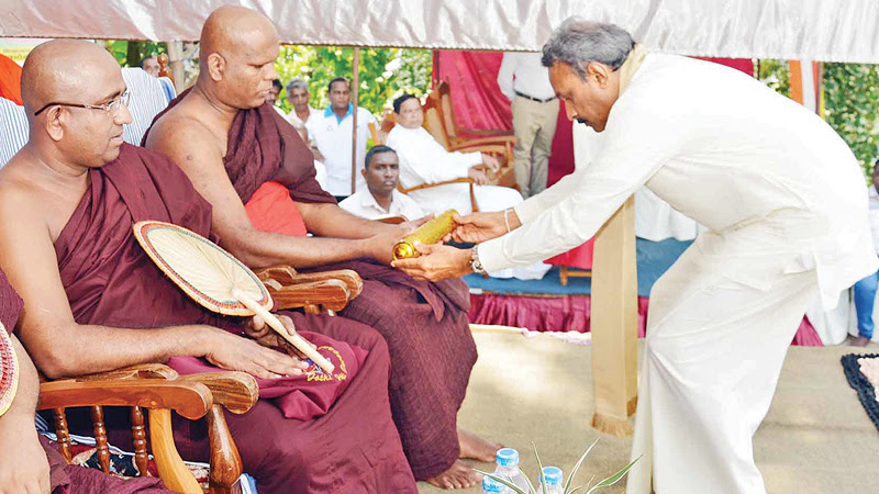 'Malicious forces trying to subvert Buddhism'
