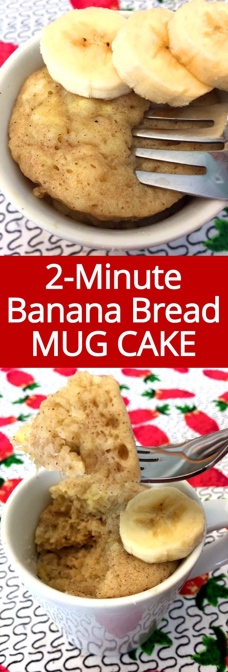 Gluten-Free Banana Bread Mug Cake Microwave Recipe ...